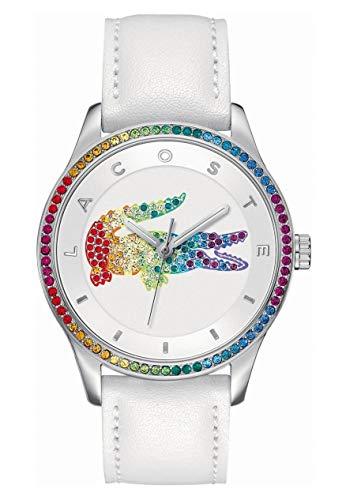 Lacoste Reloj Analógico para Mujer Cuarzo con Correa en Cuero 2000822