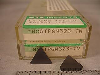 Tpg 323 Hc6 Ntk Ceramic Inserts New/&Original Ntk 10Pcs