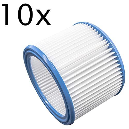 vhbw Set de filtros 10x Filtro plisado