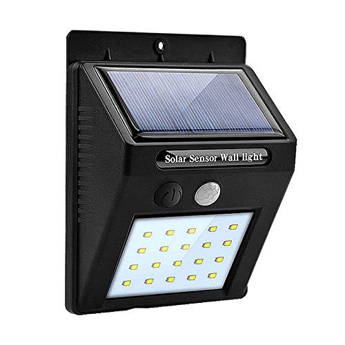 センサーライト 屋外 LED 20個 ソーラーライト 人感センサー 屋内 明るい 防水 太陽光 玄関 防犯 自動点灯