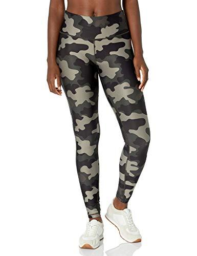 Amazon Essentials Damen Performance Full Length Athletic-leggings, Grün Camo Print, Medium