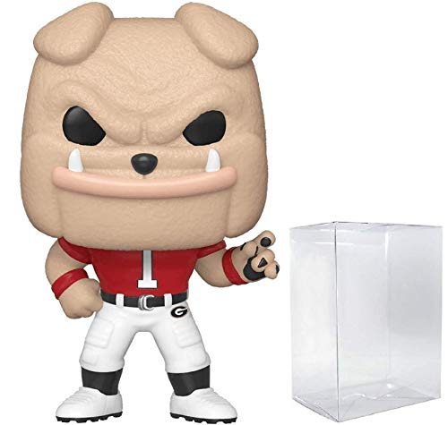 Hairy Dawg Georgia Bull Dogs Pop! College Mascots NCAA Pop Action Figure (Bundled with Pop Shield Protector to Protect Display Box)