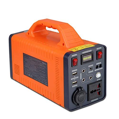 All-Purpose Tragbare Power Station 466.2Wh, Akku Generator mit Lithium-Eisen-Phosphat-Batterie, DC-Port und USB Anschlüsse für Reise Camping Emergency