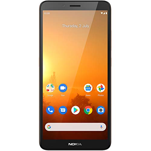 Nokia C3 5.99-inch Android 10 smartphone with all-day battery life, dependable design, 8MP rear camera with flash and…