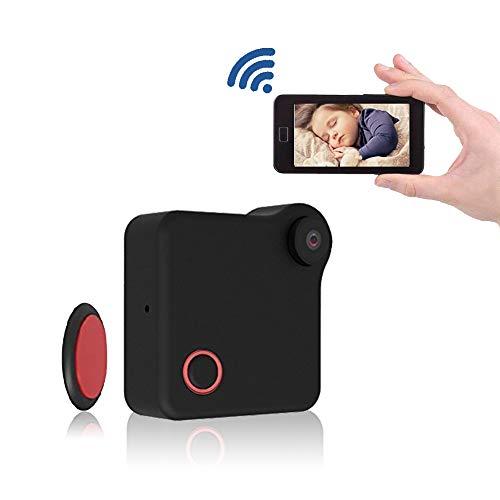 Mini WiFi Nanny Spy Camera