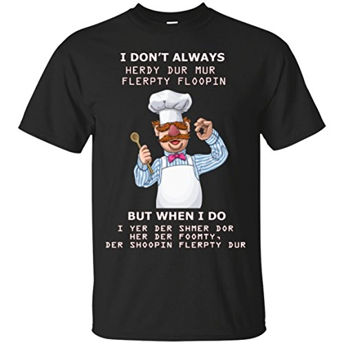 ChefTee Funny Swedish Chef Quote Gift T-Shirt Black