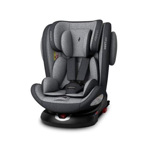 Osann 102-226-252 Swift360 Kinderautositz drehbar Gruppe 1/2/3 (9-36 kg), Autositz