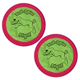 Booda Tail-Spin Flyer, 10-Inch - 2 Pack