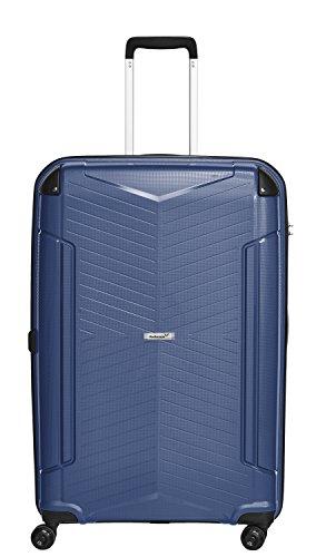 Packenger Koffer - Silent - (XL), Blau, 4 Zwillingsrollen, 109 Liter, 5,0Kg, Koffer mit TSA-Schloss, Polypropylen, Reise Trolley