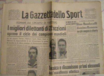 GAZZETTA SPORT MONDIALI CICLISMO 1948 - 14 PZ. [DC959]
