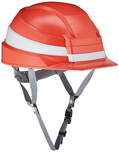 IZANO 防災用 たためる ヘルメット オレンジ/ホワイトライン