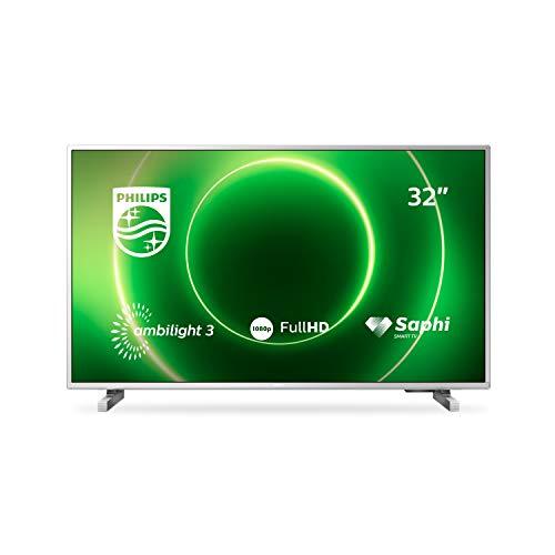Philips 32PFS6905/12 LED-Fernseher, silber, FullHD, Triple Tuner, SmartTV