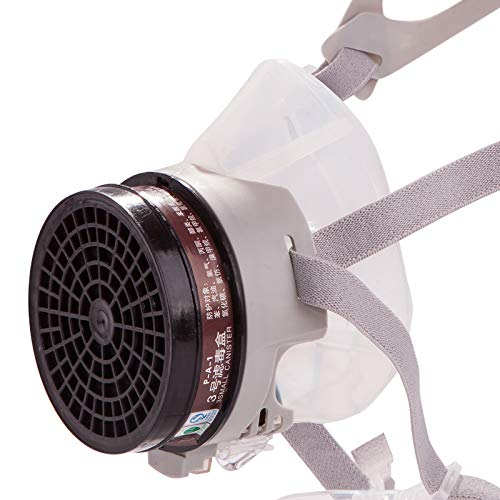 RANKSING ST-FDG Dust Half Respirator with Replaceable and Reusable Filters,Paint Respirator,Gas Respirator