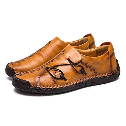 Zapatillas Hombre Cuero Zapatos Caballero Casuales