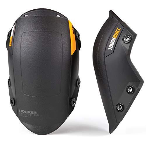 ToughBuilt - Rocker SnapShell ™ for Gelfit ™ or FoamFit ™ KneePads - Heavy Duty, Interchangeable Knee Pad SnapShell ™ - (TB-KPS-01)