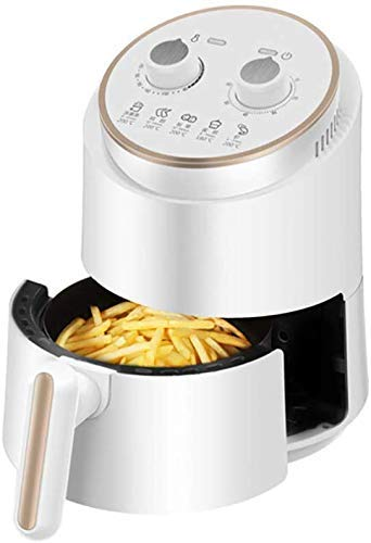 Friteuse d'air compacte, fourgonnette de greer à air électrique de 1,5 l avec contrôle de la température, panier à frire anti-bâton, avec poignée anti-brûlure grillable détachable Xping