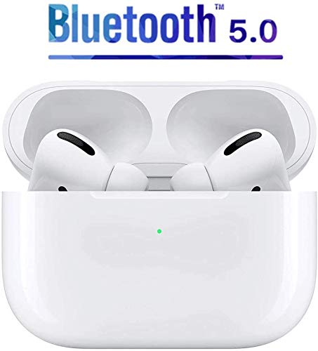 AirPods Pro New Sealed Gen 3 Wireless Earbuds Active Noise Cancellation Bluetooth 5.0 Auto Connect Balanced Bass Perfect Sound Touch Control Qi Wireless Charging Case