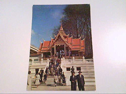 Pavillon von Thailand. Expo. Brüssel. Belgien. AK.