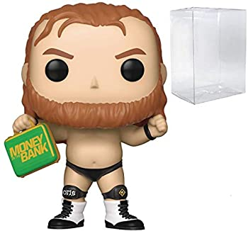 WWE  Otis  Money in The Bank  Funko Pop! Vinyl Figure  Includes Compatible Pop Box Protector Case