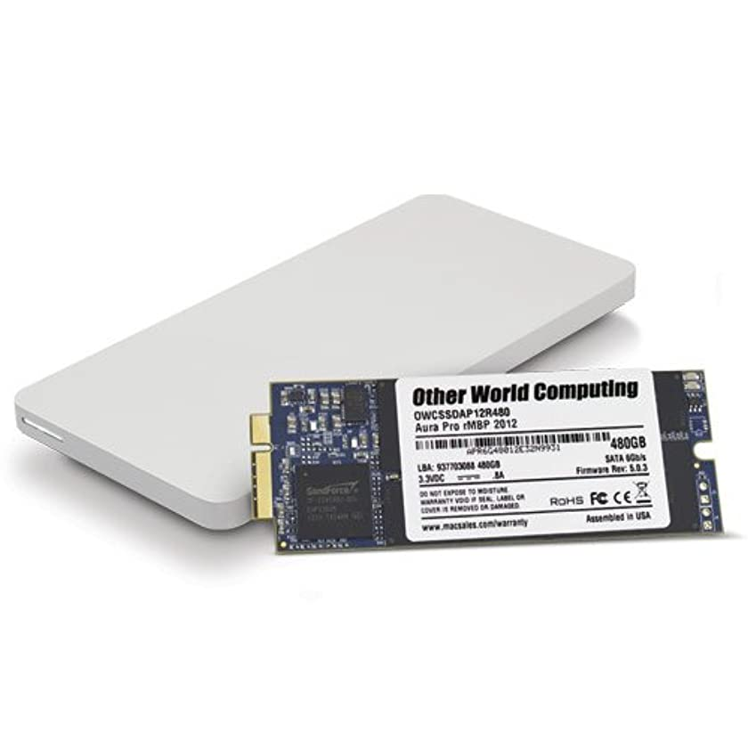 OWC 2.0TB Aura Pro 6G SSD and Envoy Pro Upgrade Kit for 2012-2013 MacBook Pro with Retina Display.