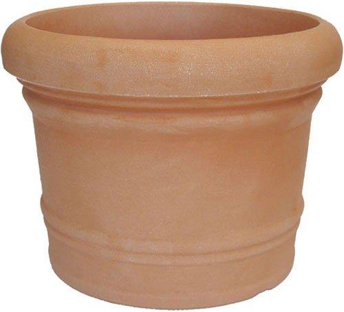 PP Venice - Set di 2 vasi per piante in terracotta, diametro: 70 cm