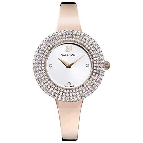 Swarovski Damen-Uhren Analog Quarz One Size Rosé 32010425