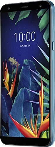 LG K40 Smartphone (14, 48 cm (5, 7 Zoll) LC-Bildschirm, 32 GB interner Speicher, 2GB RAM, MIL-STD-810G, Android 8.0) Moroccan Blue