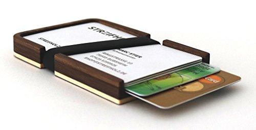 Kreditkartenetui aus Holz | Geldbörse | Portemonaie | Geschenk Männer Frauen Papa Mama