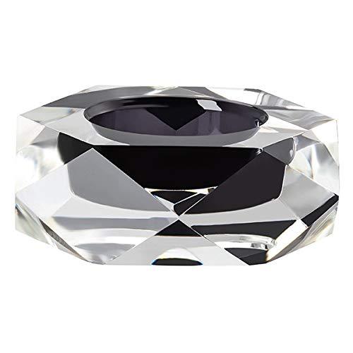 Rosenthal - Stella - Tischlicht/Teelichthalter - Glas - Smoke/grau - 9 x 9 cm