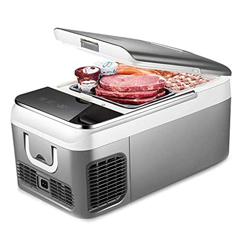 BD.Y Refrigerador portátil Refrigerador Congelador Refrigerador Refrigerador portátil Congelador Mini refrigerador (26L / 18L) con Adaptador DC12V / 24V  Alimentos, Bebidas,  Camping, Picnic, v