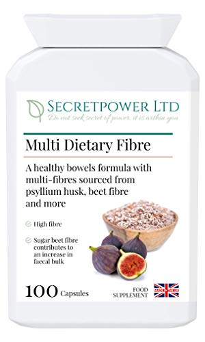 Multi Dietary Fibre, Multi-Fibres Blend in 100 Capsules