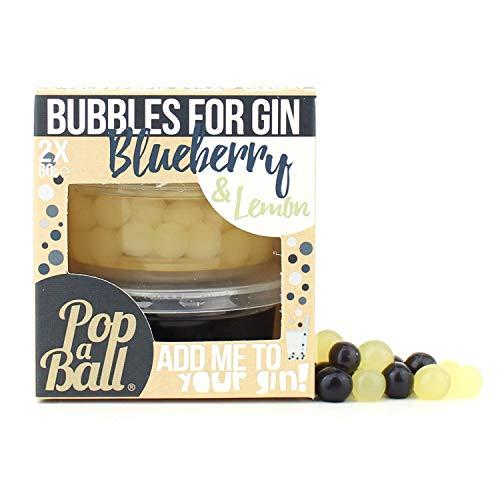 Popaball Berstende Fruchtperlen mit Blaubeer- und Zitronengeschmack, 120g