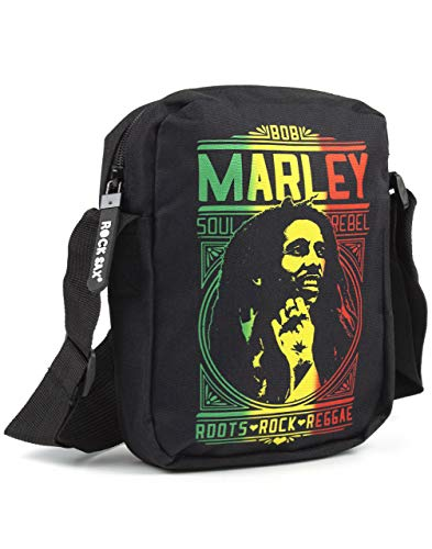 Bob Marley Rock Sax Roots Rock Crossbody bag