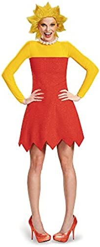 Disguise Woherren Lisa Deluxe Adult Costume, rot, X-Large