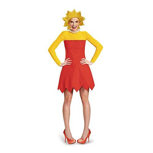 Disfraz de Lisa Simpson Deluxe para Mujer