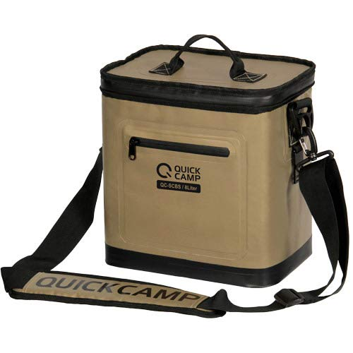 [クイックキャンプ] QUICKCAMP アウトドア キャンプ ソフトクーラーボックス クーラーボックス 8L 保冷 ク...