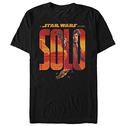 Solo: A Star Wars Story Men's Han Logo Black T-Shirt