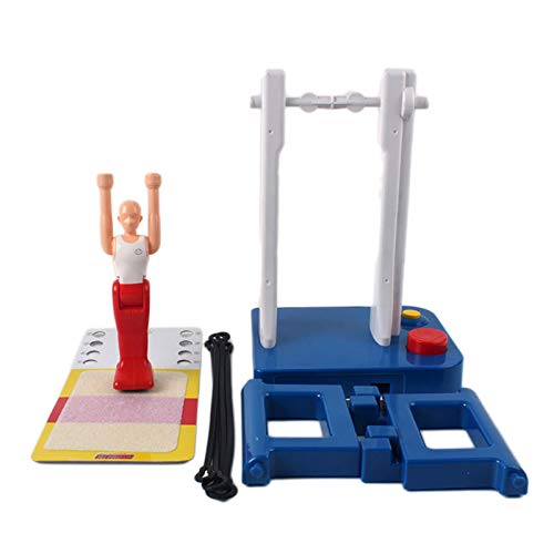 Children's Toy Gymnastics Machine Horizontal Bar Prince Flip Gymnastic Big Swing Table Game for Kids Boy Girl