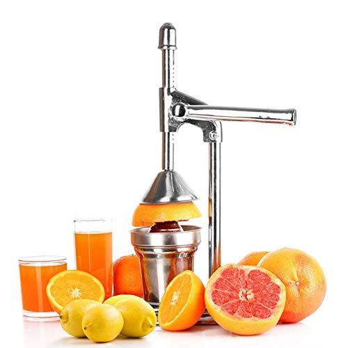 UPANV Manual Orange Juicer Juice Extractor Hand Press Manual Fruit Squeezer Citrus Lemon Pomegranate Stainless Steel Squeezer Pro Extractor