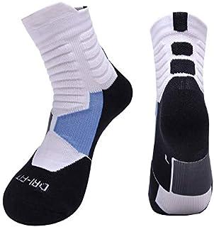 MAXJCN 2 Pares Tubo de Hombre Desodorante Sudor Toalla Engrosada Cualquier Terry Running Calcetines Calcetines de Baloncesto for Hombres Calcetines Deportivos al Aire Libre