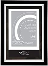 Anker Home Collection A4 Black Certificate Photo/Picture Frame
