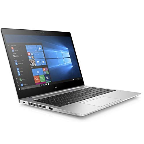 HP EliteBook 840 G6 Notebook, Silver, Intel Core i5-8265U, 8GB RAM, 16GB SSD+256GB SSD, 14.0' 1920x1080 FHD, HP 3 YR WTY + EuroPC Warranty Assist, (Renewed)