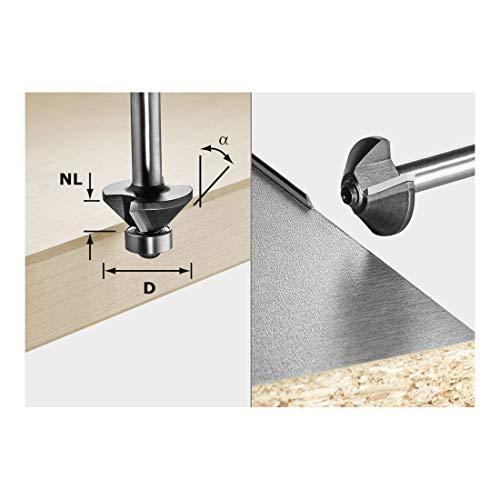 Festool Fasefräser 499800 S8 HW 30° D25-KL OFK, Grad