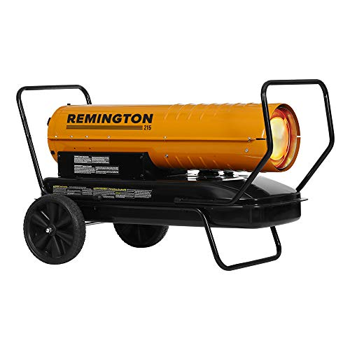 Great Deal! REMINGTON REM-215T-KFA-O 215,000 BTU kerosene heater, Orange/Black