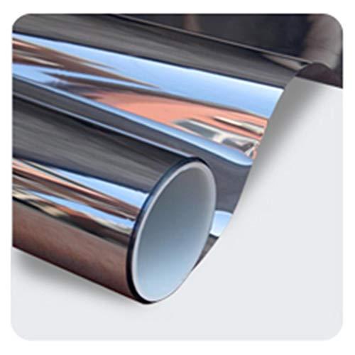 Fensterfolien Isolationsfolie Fenster Sonnenschutzglas Startseite Reflektierende Einweg Perspektive Balkon Küche Sonnenschutz Aufkleber UV-Schutz: 99% (größe : 100 * 100cm)