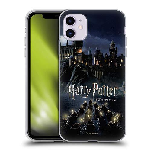 Head Hülle Designs Offiziell Zugelassen Harry Potter Burg Sorcerer's Stone II Soft Gel Handyhülle Hülle Huelle kompatibel mit Apple iPhone 11