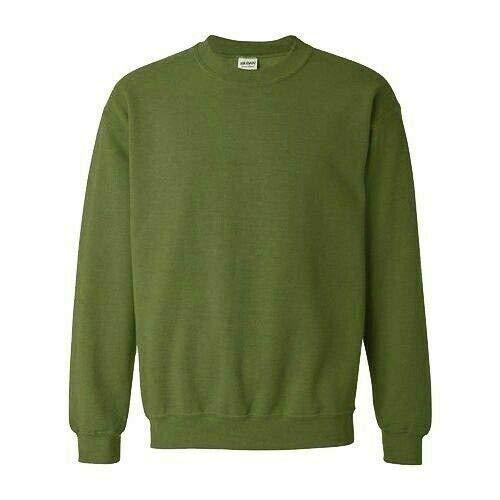 Flirty garderobe Plain Jumper Sweater Top Heren Werk Draag Klassieke Casual Trui Top S - XXL