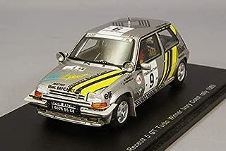 Spark – S3859 – Renault R5 GT Turbo – Rally de Cote de Marfil 1989 – Escala 1/43 – Plata