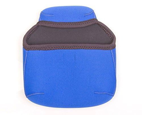 OP/TECH USA Bino Porro Soft Pouch - Padded Binocular Case, Large (Royal)