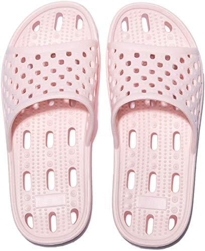 Zapatillas de Ducha para Mujeres Antideslizantes Chanclas y Sandalias de Piscina Sandalias de Baño